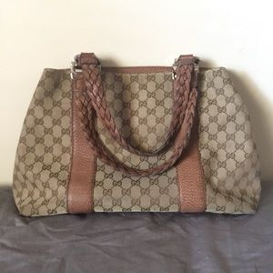 Gucci Bamboo Bar Purse Bag